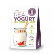 Vegan Dairy Free Yogurt Starter Culture, a blend of lactic acid bacteria specifically selected for use in making dairy-free yogurt. This culture has a mild yogurt flavor with a smooth texture and slightly weak viscosity,  Ideally suited for soy or rice milk.