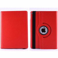Red Smart 360 Rotational Leather Stand Case For Apple iPad Air 2