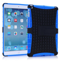 Blue Apple iPad Mini 3 Dual Layer Protective Hybrid Kickstand Case - 1