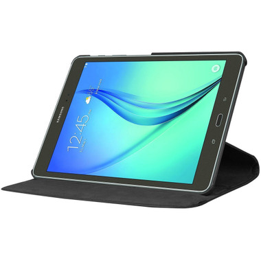 Black Premium Samsung Galaxy Tab S2 9.7 360 Degree Rotating Case - 1