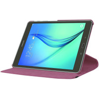 Purple 360 Degree Rotating Case For Samsung Galaxy Tab S2 9.7 - 1