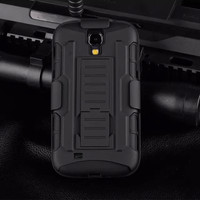 Samsung Galaxy S4 Military Style Rugged Armor Case with Optional Holster - 1