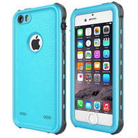 Apple iPhone 5 5S SE Waterproof Dirtproof Heavy Duty Case - Blue - 1