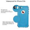 Apple iPhone 5 5S SE Waterproof Dirtproof Heavy Duty Case - Blue - 3