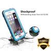 Apple iPhone 5 5S SE Waterproof Dirtproof Heavy Duty Case - Blue - 5