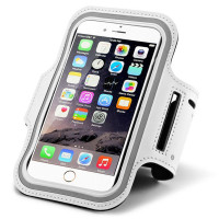 White iPhone 6 / 6s Armband Case Cove For Training and Exercise