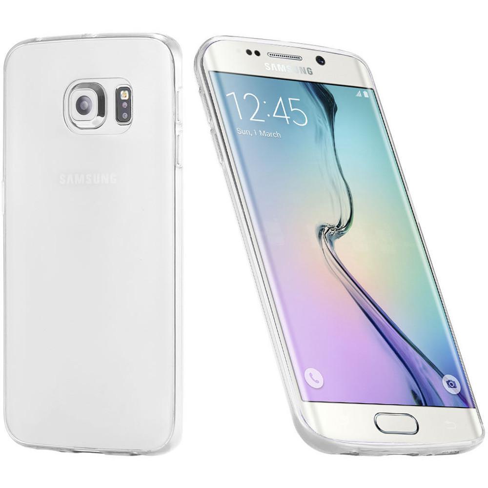 buy popular 24bd4 50e00 Clear Samsung Galaxy S6 Ultra Slim TPU Gel Case