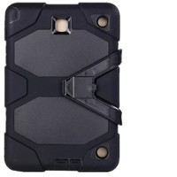 Black Military Armor Protective Case for Samsung Galaxy Tab A 8.0 - 1