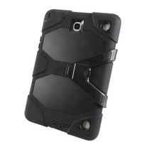 Samsung Galaxy Tab A 9.7 Black Military Armor Protective Case - 1