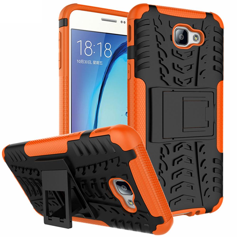 half off bc051 6b22b Orange Tough Tradies Protective Stand Case For Samsung Galaxy J5 Prime