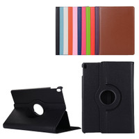 "Black iPad Pro 10.5"" 2017 360 Degree Magnetic Slim Rotating Synthetic Leather Case - 1"