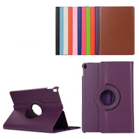 "Purple 360 Degree Slim Flip Rotating Synthetic Leather Case Stand for iPad Pro 10.5"" 2017 - 1"