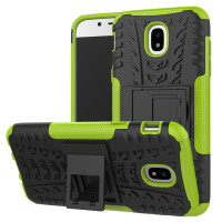 Green Defender Kickstand Case For Samsung Galaxy J5 Pro (2017)