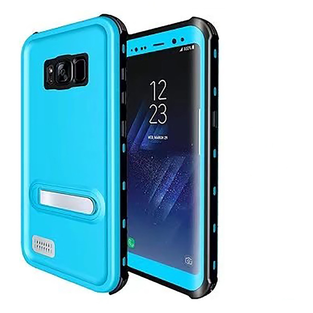 info for 86729 441cf Sky Blue Waterproof Dirtproof Defender Case For Samsung Galaxy S8 Plus