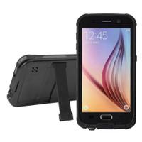 Black Waterproof Shockproof Dirtproof Defender Case For Samsung Galaxy S6  - 1