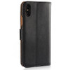 Apple iPhone 8 Plus Black Genuine Leather Business Wallet Smart Case Cover - 3