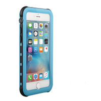 Apple iPhone 8 Plus Sky Blue Waterproof Dirtproof Shock Proof Defender Case - 1