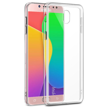 Samsung Galaxy J7 Pro (2017) Clear Ultra Slim TPU Soft Gel Case