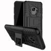 Samsung Galaxy S9 Black Heavy Duty Rugged Kickstand Armour Case - 1