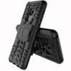 Samsung Galaxy S9 Black Heavy Duty Rugged Kickstand Armour Case - 2