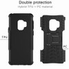 Samsung Galaxy S9 Black Heavy Duty Rugged Kickstand Armour Case - 4