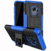 Samsung Galaxy S9 Blue Heavy Duty Defender Kickstand Case - 1