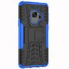 Samsung Galaxy S9 Blue Heavy Duty Defender Kickstand Case - 3