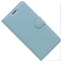 Aqua Premium Litchi Leather Wallet Stand Case for Oppo A73 - 1