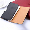Black iPhone 7 / 8 Leather Belt Clip Pouch Case For Tradesman Workman - 3