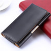 Black iPhone 7 / 8 Leather Belt Clip Pouch Case For Tradesman Workman - 4