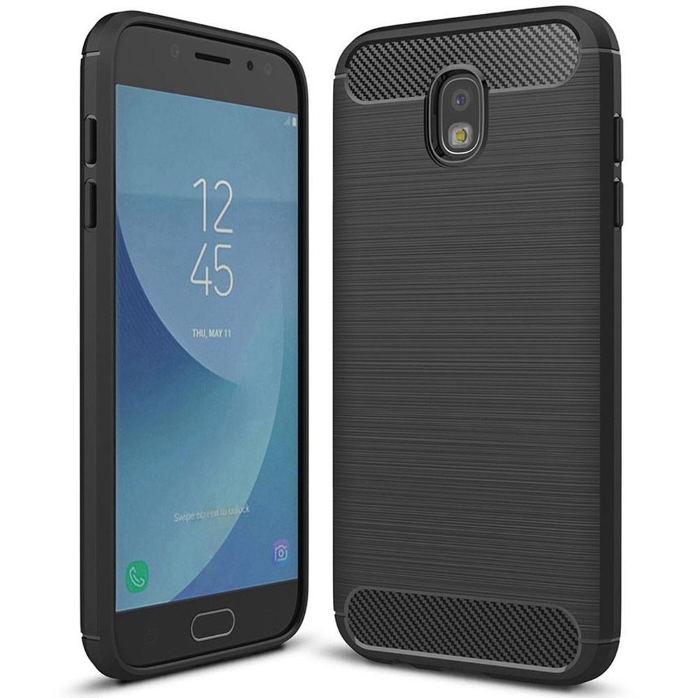 the latest 5b07d 84e59 Black Samsung Galaxy J5 Pro 2017 Slim Armor Carbon Fibre Case