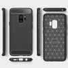 Black Samsung Galaxy S9 Slim Armor Carbon Fibre Case Cover - 3