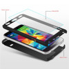 Black Galaxy J7 Pro (2017) Full Body Coverage 360 Degree Protect Case - 2