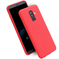 Red Matte Gel Case For Samsung Galaxy J2 Pro Slim Flexible Protective