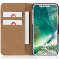 Apple iPhone XR Genuine Leather Business Wallet Smart Case - Black - 1