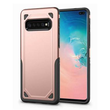 Rose Gold Slim Defender Bumper Case For Samsung Galaxy S10 - 1