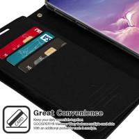 Black Genuine Mercury Mansoor Wallet Case For Galaxy S10+ Plus - 2