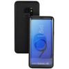 Black Samsung Galaxy S9 Water Resistant Full Body TPU Gel Case - 2