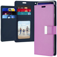 Fashionable Galaxy S10+ Plus Mercury Rich Diary Wallet Case - Purple - 1