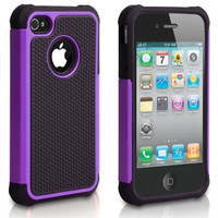 iPhone 5C Defender Case Cover - Purple