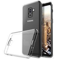 Clear Ultra Slim TPU Soft Gel Case  For Samsung Galaxy A8 (2018) - 1
