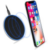 Black Qi Wireless Charger Fast 10W Pad Receiver For Galaxy S10 S10+ S10E - 2