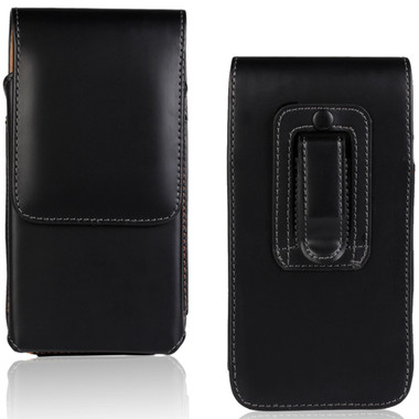 iPhone 7 / 8 Vertical Belt Clip Leather Holster Case for Tradie, Handyman - 1