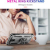 Rose Gold 360 Rotating Stand Metal Defender Case For Galaxy A20 / A30   - 6