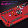 Rose Gold Slim Defender 360 Rotating Metal Stand Case For Galaxy A70 - 4