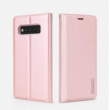 Rose Gold Hanman Wallet Case For Samsung Galaxy S10 5G - 1