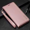 Rose Gold Samsung Galaxy S10+ Plus Hanman Rich Diary Wallet Case - 6