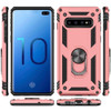 Rose Gold Slim Armor 360 Rotating Kickstand Case For  Galaxy S10 5G - 3