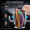 Automatic Clamping Qi Wireless Car Charger Mount Holder - 2