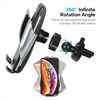 Automatic Clamping Qi Wireless Car Charger Mount Holder  - 3
